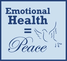 Emotional Health = Peace Logo